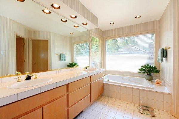 Sử dụng trần thạch cao cho phòng tắm