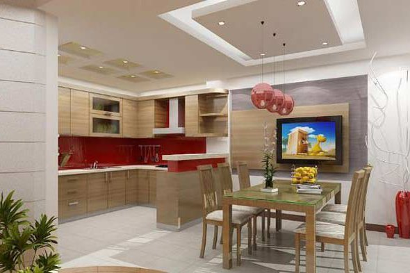 Đơn vị thi công vách thạch cao nhà bếp chuyên nghiệp tại Đà Nẵng