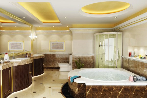 Vì sao nên chọn trần thạch cao cho phòng tắm?