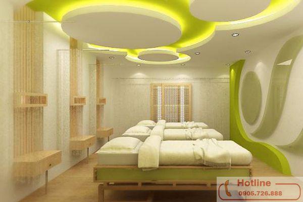 Trần thạch cao cho phòng ngủ ấm cúng