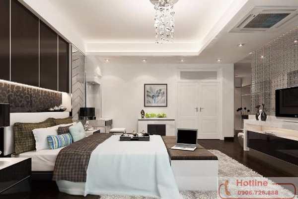 Phòng ngủ ấm cúng hơn với trần thạch cao