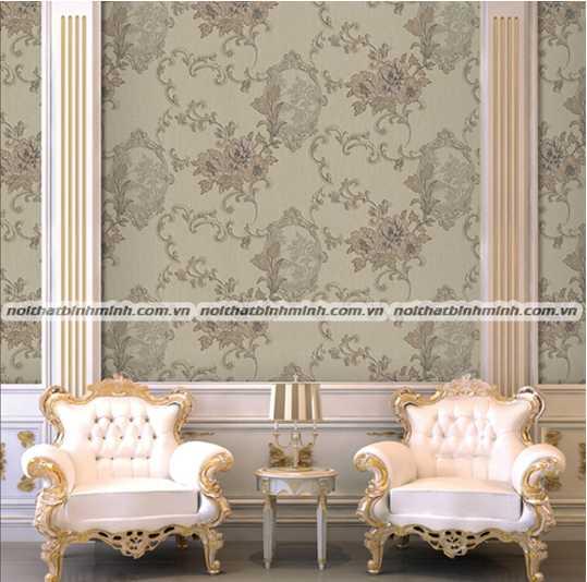 Giấy dàn tường phong cách hiện đại